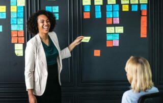 Idea planning session
